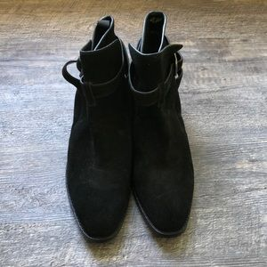 Marc Fisher suede boots
